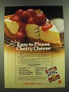 1983 Borden Eagle Brand Sweetened Condensed Milk Ad - Cherry Cheese Pie recipe