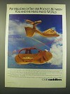 1983 U.S. Shoe Cobbie Cuddlers Shoes Ad - Put millions of tiny air pockets
