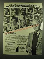 1983 Sears Financial Network Ad - In today's economy