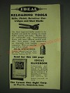 1932 Lyman Ideal Reloading Tools Ad - .30G-06 Springfield