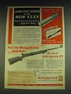1948 Winchester 52 Rifle and EZXS Ammunition Ad - Join the trend