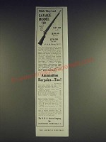 1933 N.R.A. Service Co. Savage Model 19 Rifle Ad - While they last