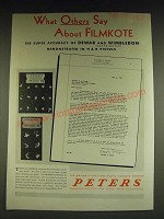 1934 Peters Dewar Match and Wimbledon Match Cartridges Ad - What others say