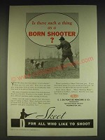 1934 Du Pont Sporting Powders Skeet Ad - Is there such a thing as