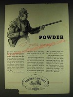 1935 Du Pont Sporting Powder Ad - Powder 42 years young