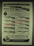 1935 A.F. Stoeger Peerless Gun Stocks Ad - peerless stocks for all