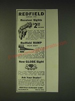 1935 Redfield Series 102 Receiver Sights Ad