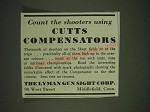 1935 Lyman Cutts Compensators Ad - Count the shooters using