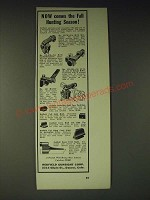 1936 Redfield Sights Ad - Now Comes the Fall Hunting Season