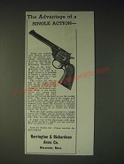 1936 Harrington & Richardson H&R Sportsman Revolver Ad - The advantage