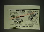 1936 Redfield Globe Sight and No.100-A Micrometer Sight Ad - Watch the winners!