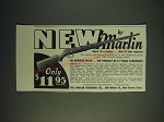 1937 Marlin Model 81 Rifle Ad