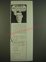 1938 The American Insurance Group Ad - My gun is gone! And I didn't know it