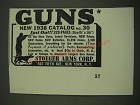 1938 Stoeger Arms Corp. Ad - Guns