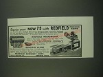 1939 Redfield Sights Ad - HW75, No. 63 - Equip your new 75 with Redfield
