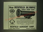1940 Redfield Olympic Target Front Sight Ad