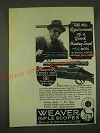 1939 Weaver Model 330 Scope Ad - Fred Ness - All the requirements