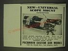 1939 Pachmayr Universal Scope Mount Ad