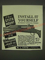 1939 Stith Mounts Ad - Install it yourself without special tools