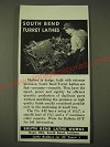 1942 South Bend Lathe Works Ad
