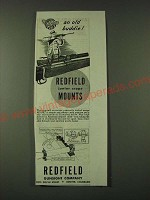 1945 Redfield Junior Scope Mount Ad - An Old Buddie!