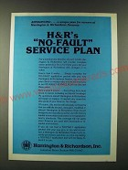 1980 H&R Harrington & Richardson Ad - Announcing… a unique plan for owners