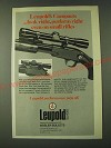 1980 Leupold Scopes Ad - Leupold's Compacts …look right, perform right