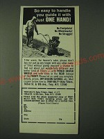 1980 Tory-Bilt Roto-Tiller Ad - So easy to handle