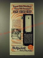1948 Hotpoint Electric Water Heater Ad - Hotpoint makes water-heater history