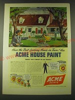 1948 Acme Paints Ad - Have the best-looking house in town!