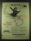 1948 Worthington Air Conditioning Ad - Make hay all summer in bowling alley