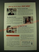 1948 Metropolitan Life Insurance Ad - What you can do about your heart