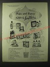 1955 Lentheric Ad - Mist Toilet Water Concentrate, Tweed Perfume
