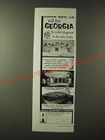 1955 Georgia Department of Commerce Ad - Come see us