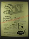 1960 Bolton Chamber of Commerce Ad - and now factories off the peg