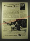 1960 Employers Mutuals of Wausau Ad -  Your Grocery List