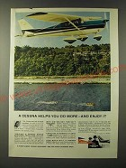 1960 Cessna Skylark plane Ad - A Cessna helps you do more - and enjoy it
