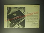 1960 Sobranie Black Russian Cigarettes Ad - His excellency requests…