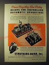 1943 Struthers-Dunn PSAU1G9 and PWBB1 Dunco Time-Delay Relays Ad