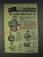 1958 10-X Ad - Hunting and Sport Coat, Sport Vest, Rifleman's Coat, Bush Coat