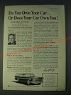 1958 American Motors Rambler 6 Cross Country Station Wagon Ad - Do you own