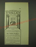 1900 1835 R. Wallace silverware Ad - Founder of the Silverware Industry
