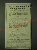 1900 Lasell Seminary Ad - For Young Women