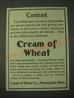 1900 Cream of Wheat Cereal Ad - Contrast