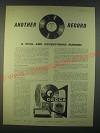 1959 Decca Record Company Ad - Another record a Vital and Adventurous business