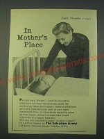1959 The Salvation Army Ad - In mother's place