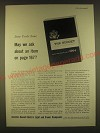 1963 Investor-Owned Electric Light and Power Companies Ad - Dear Uncle Sam