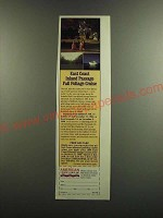 1986 American Cruise Lines Inc Ad - East coast inland passage fall foliage