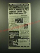 1986 Foley Belsaw Small Engine Repair Ad - Get in on the profits