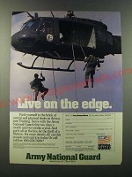 1986 Army National Guard Ad - Live on the edge